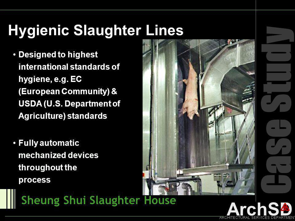 Case Study Hygienic Slaughter Lines Sheung Shui Slaughter House