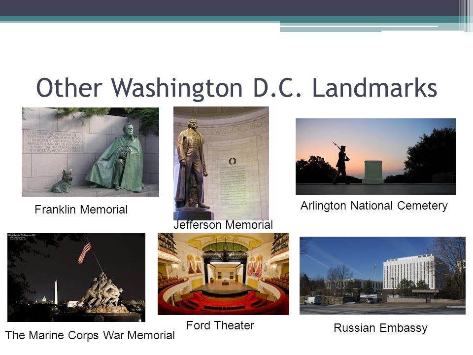 Other Washington D.C. Landmarks