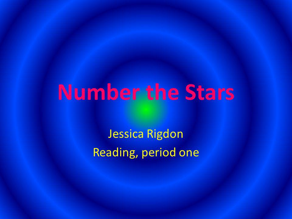 Jessica Rigdon Reading, period one