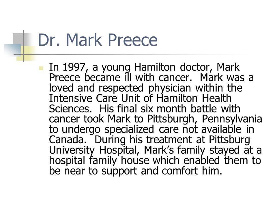 Dr. Mark Preece