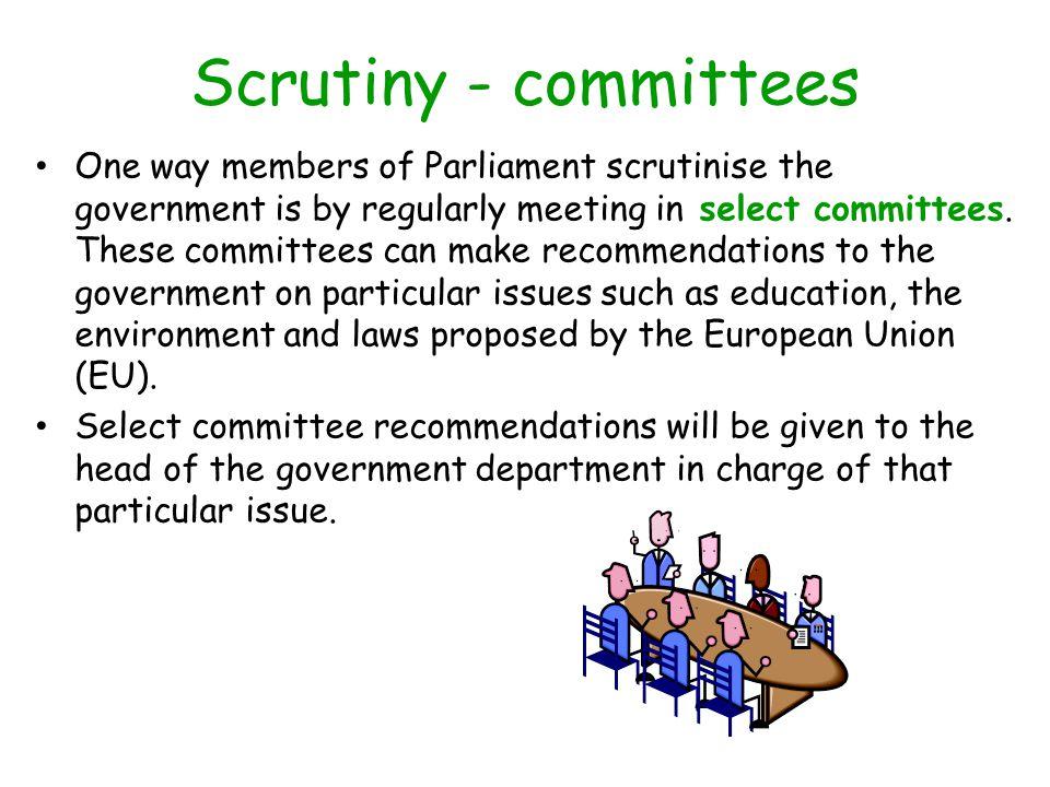 Scrutiny - committees
