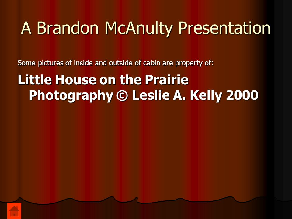 A Brandon McAnulty Presentation