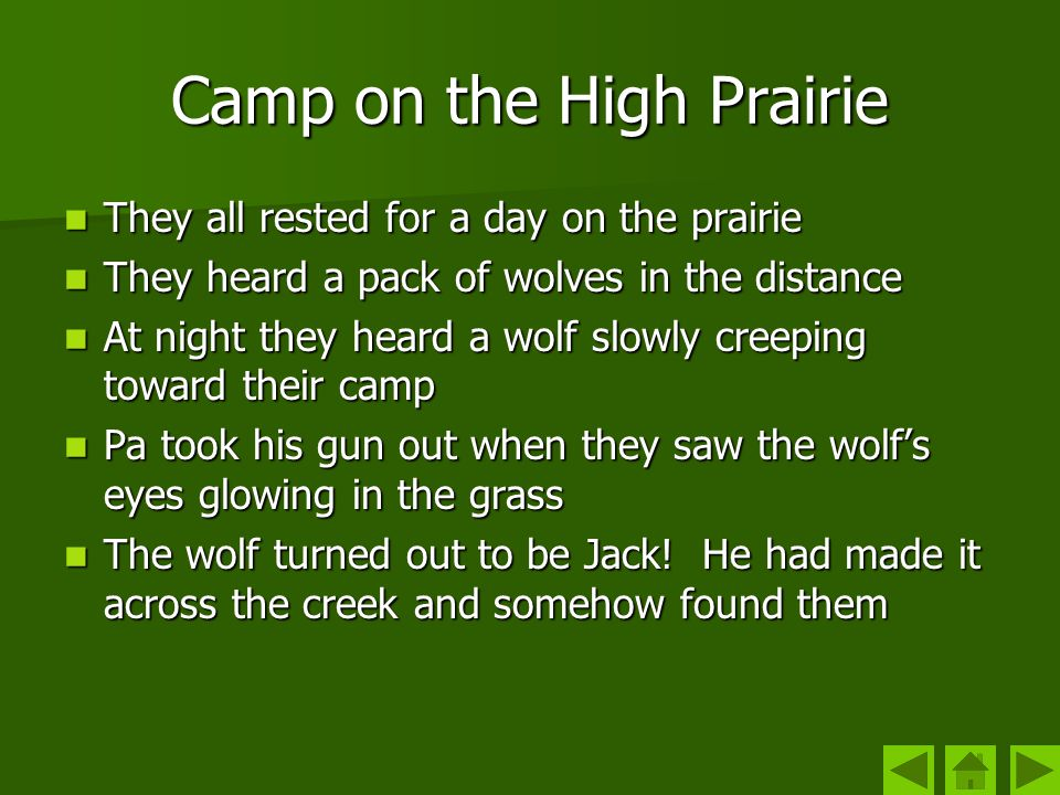 Camp on the High Prairie