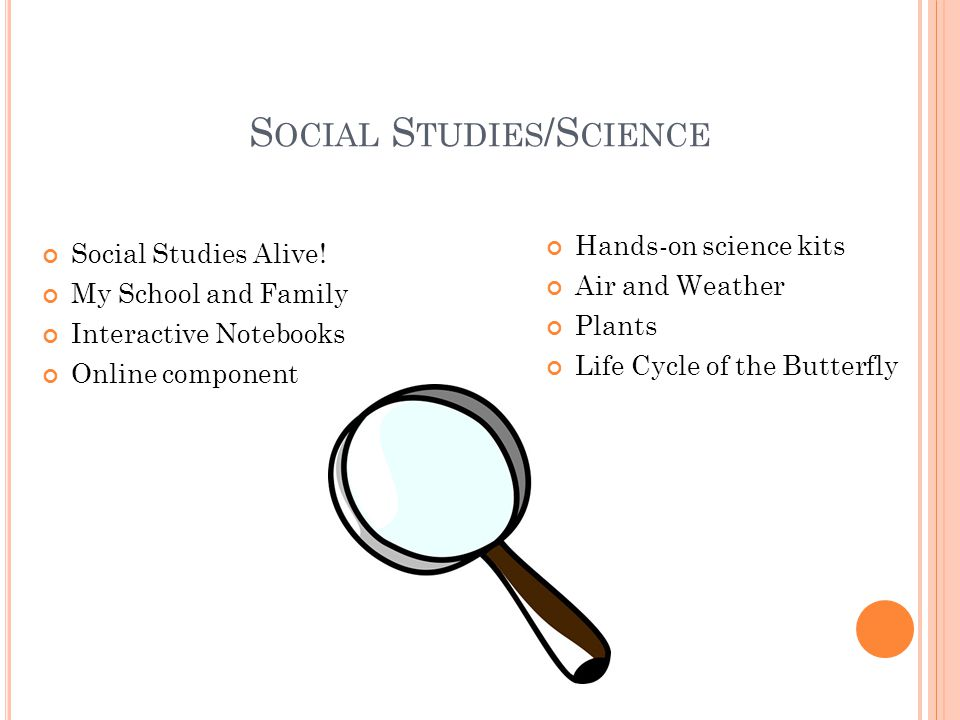 Social Studies/Science