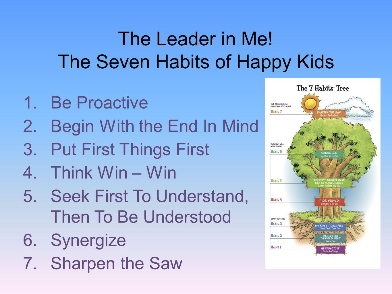 The Seven Habits of Happy Kids