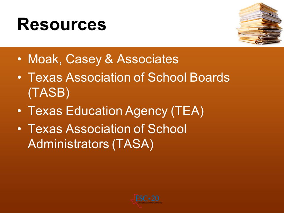 Resources Moak, Casey & Associates