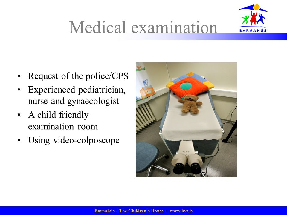 Medical examination Request of the police/CPS