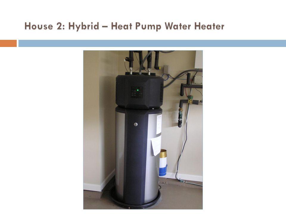 House 2: Hybrid – Heat Pump Water Heater