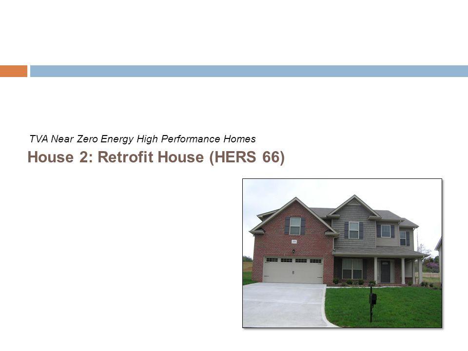 House 2: Retrofit House (HERS 66)