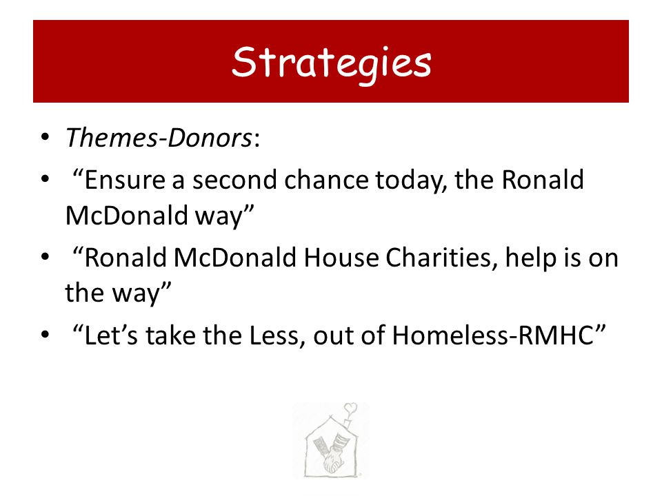 Strategies Themes-Donors:
