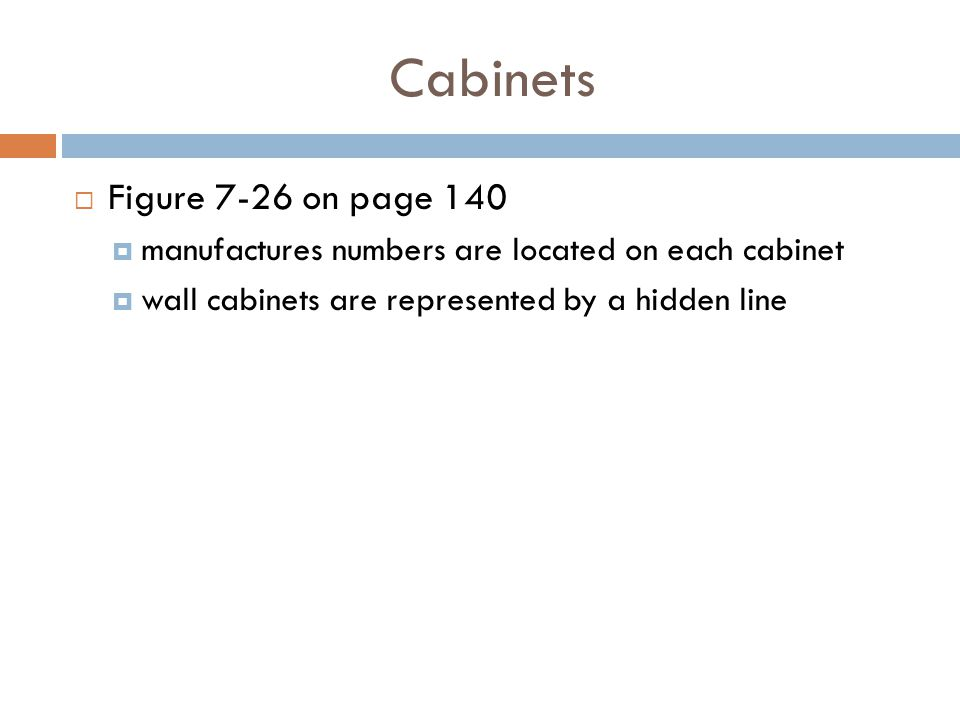 Cabinets Figure 7-26 on page 140