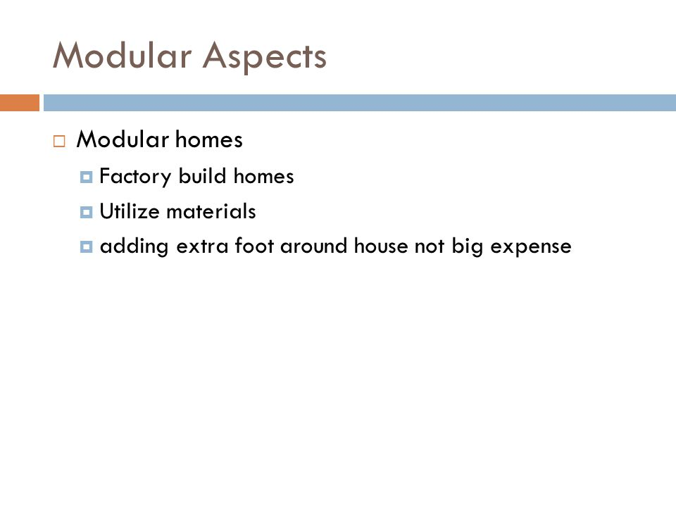 Modular Aspects Modular homes Factory build homes Utilize materials