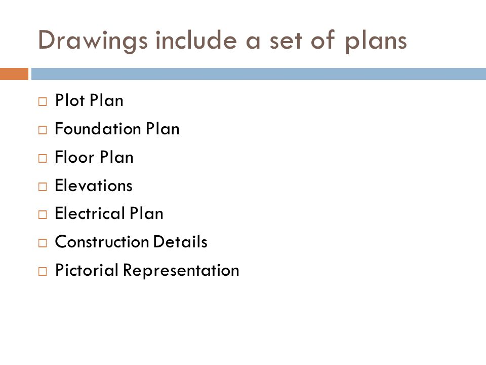 Drawings include a set of plans
