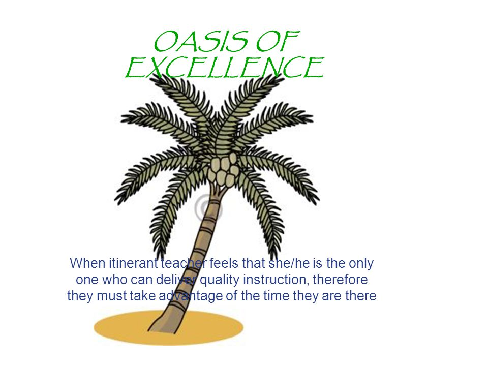 OASIS OF EXCELLENCE