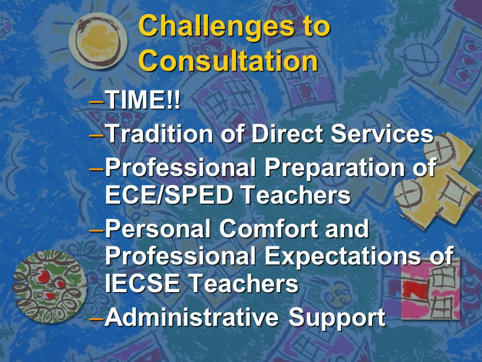 Challenges to Consultation