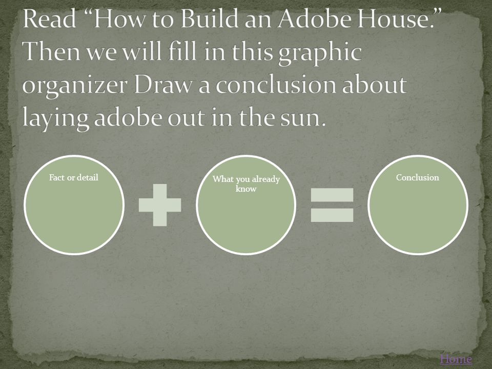 Read How to Build an Adobe House