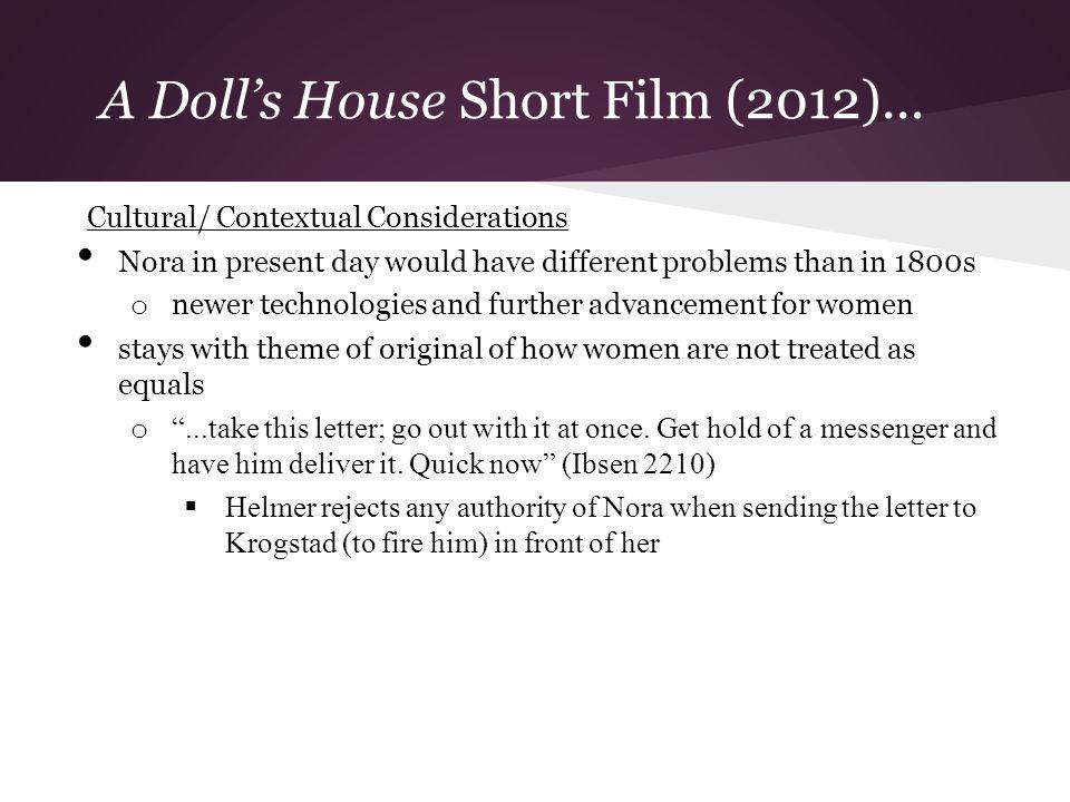 A Doll's House Short Film (2012)...