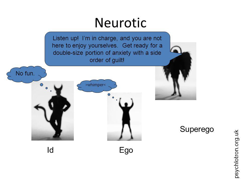 Neurotic Superego Id Ego