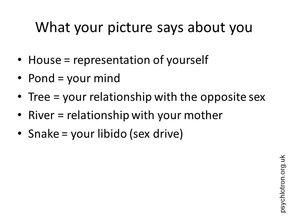 What your picture says about you