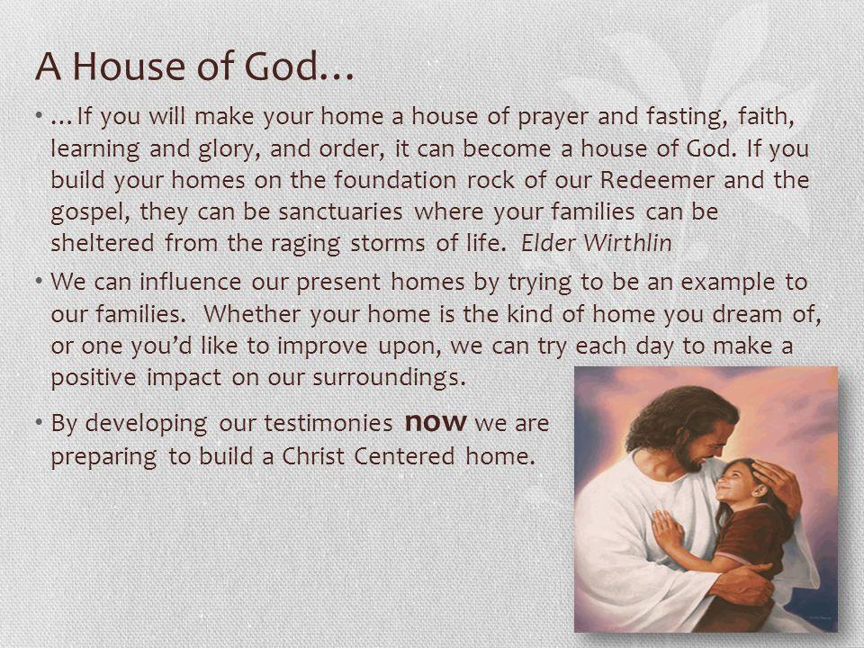 A House of God…