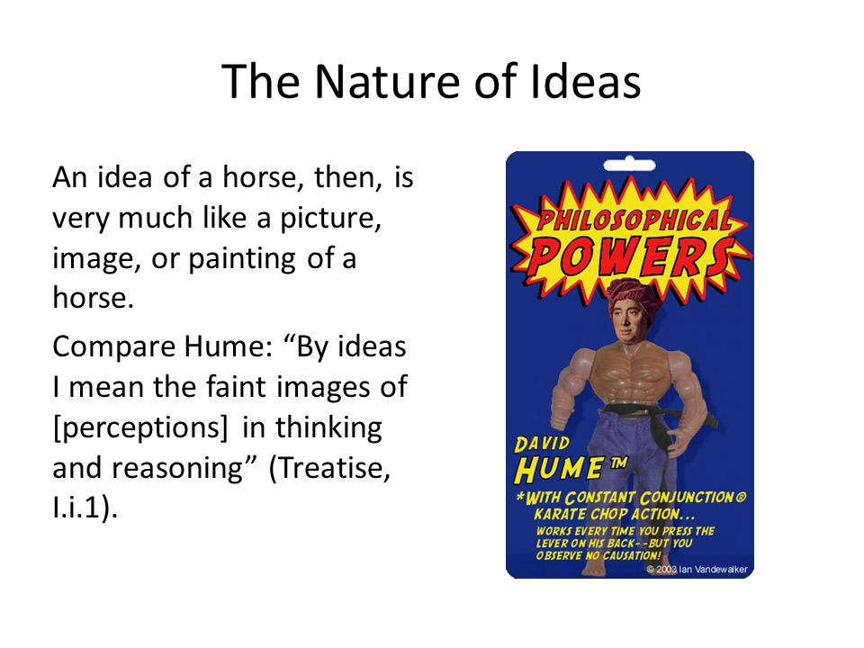 The Nature of Ideas