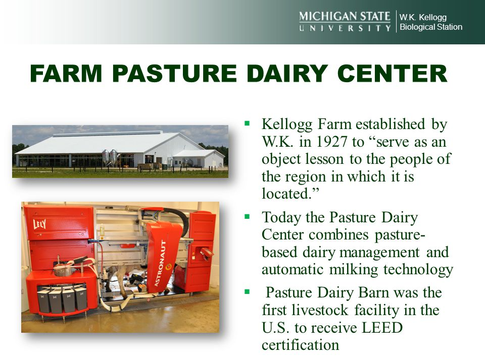 FARM PASTURE DAIRY CENTER