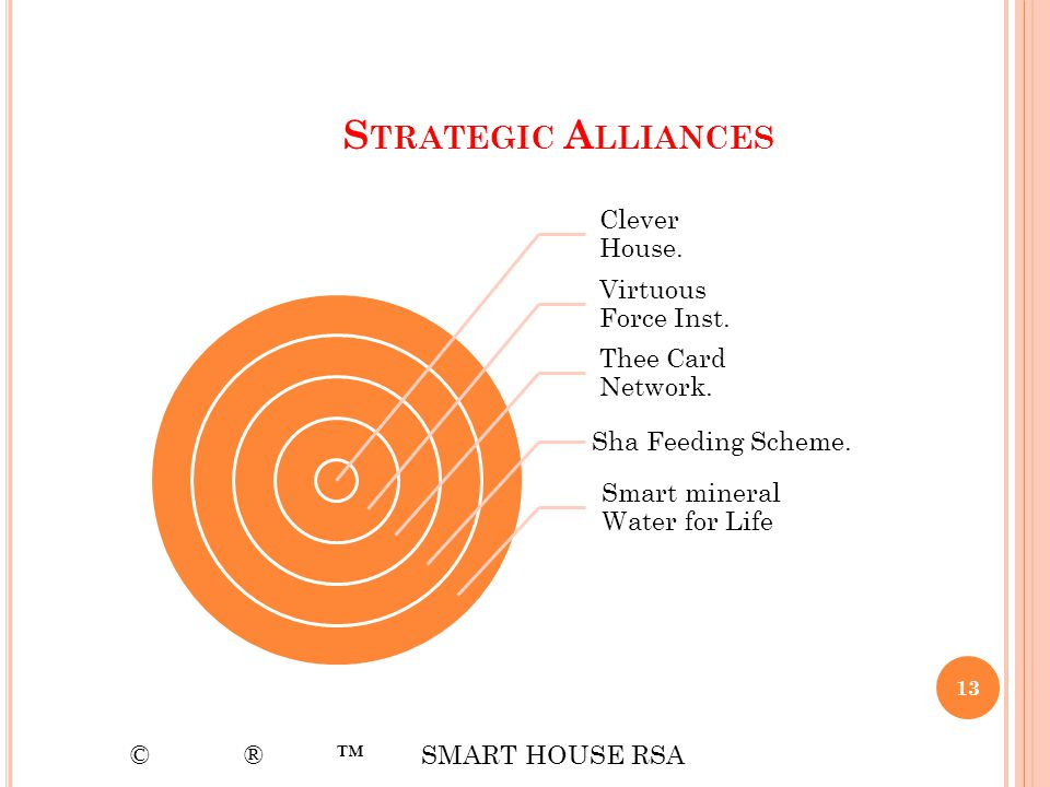 Strategic Alliances Clever House. Virtuous Force Inst.