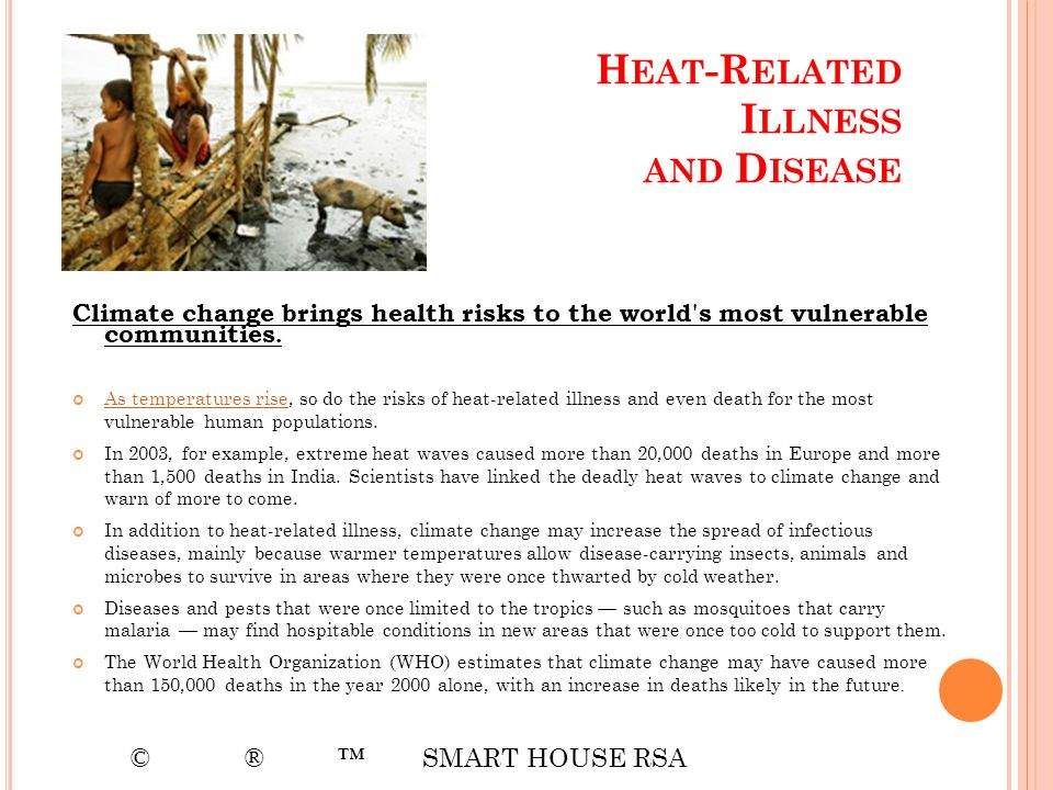 Heat-Related Illness and Disease