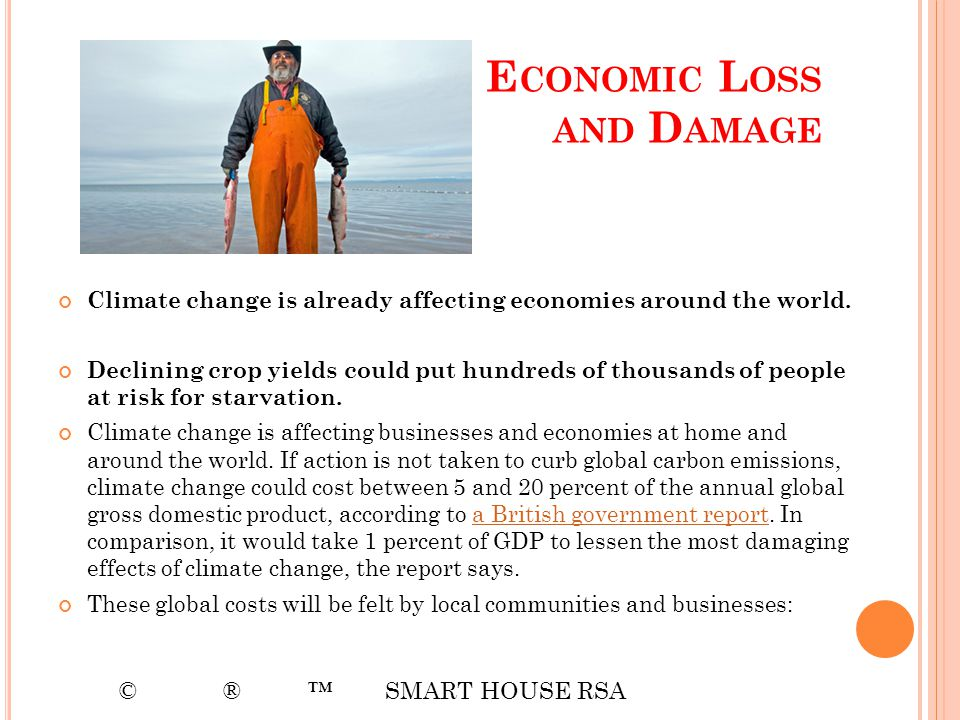 Economic Loss and Damage