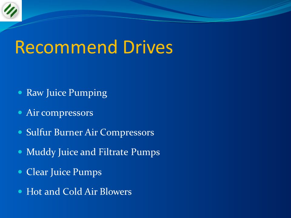 Recommend Drives Raw Juice Pumping Air compressors