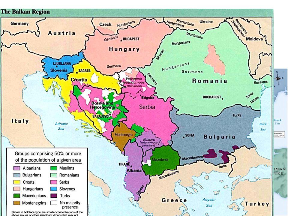 Ethnic Groups in Balkans