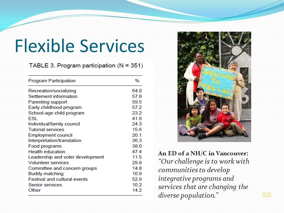 Flexible Services <<