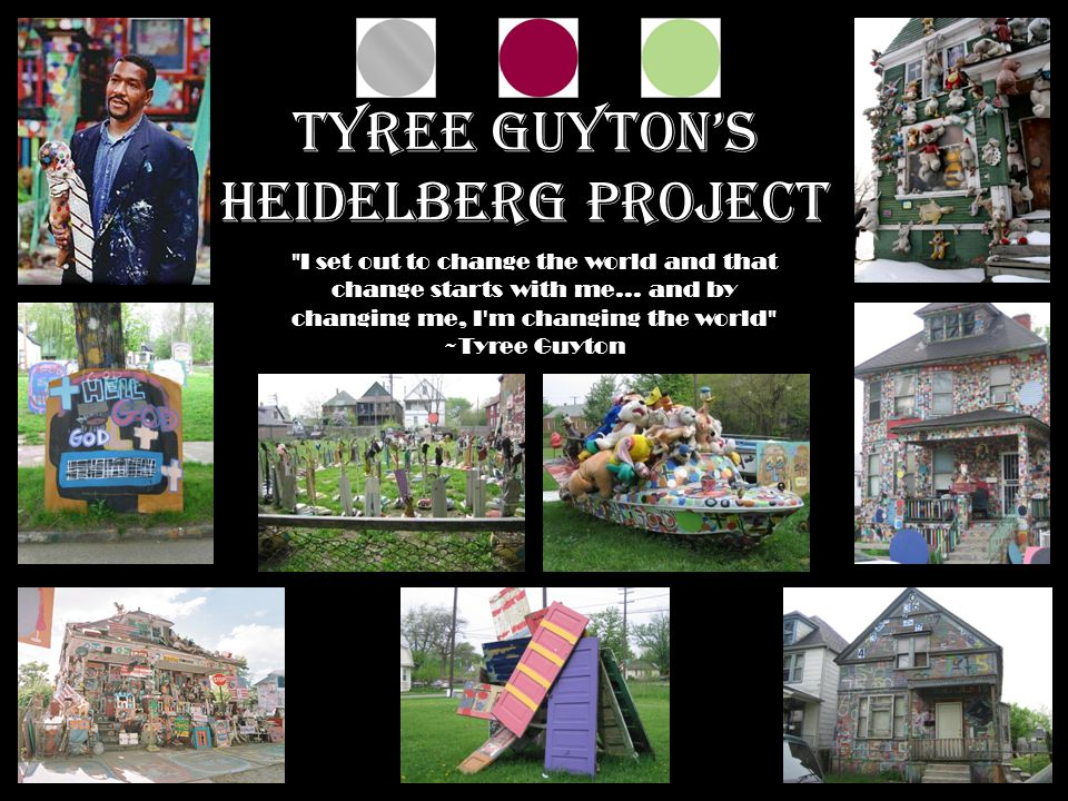 Tyree Guyton's Heidelberg Project