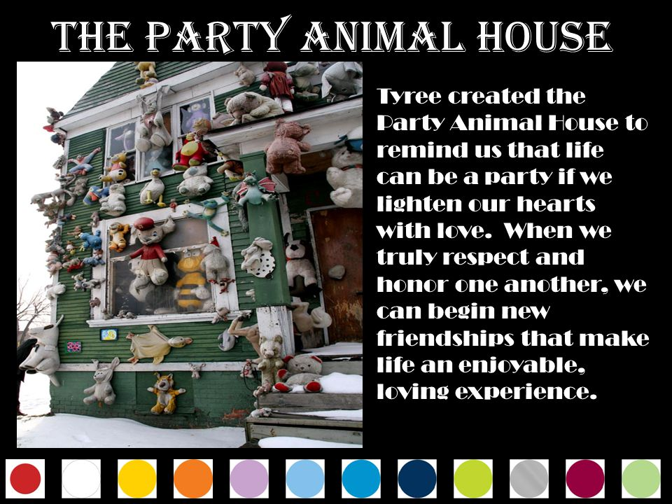 THE PARTY ANIMAL HOUSE