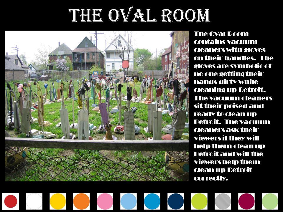 THE OVAL ROOM