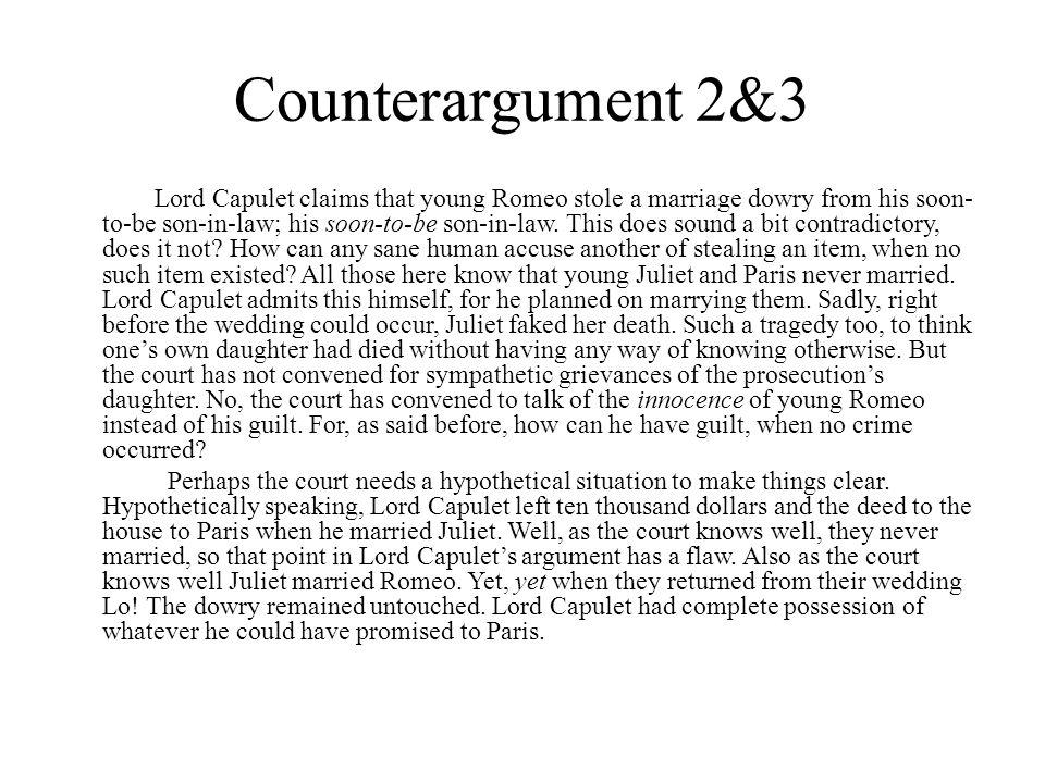 Counterargument 2&3