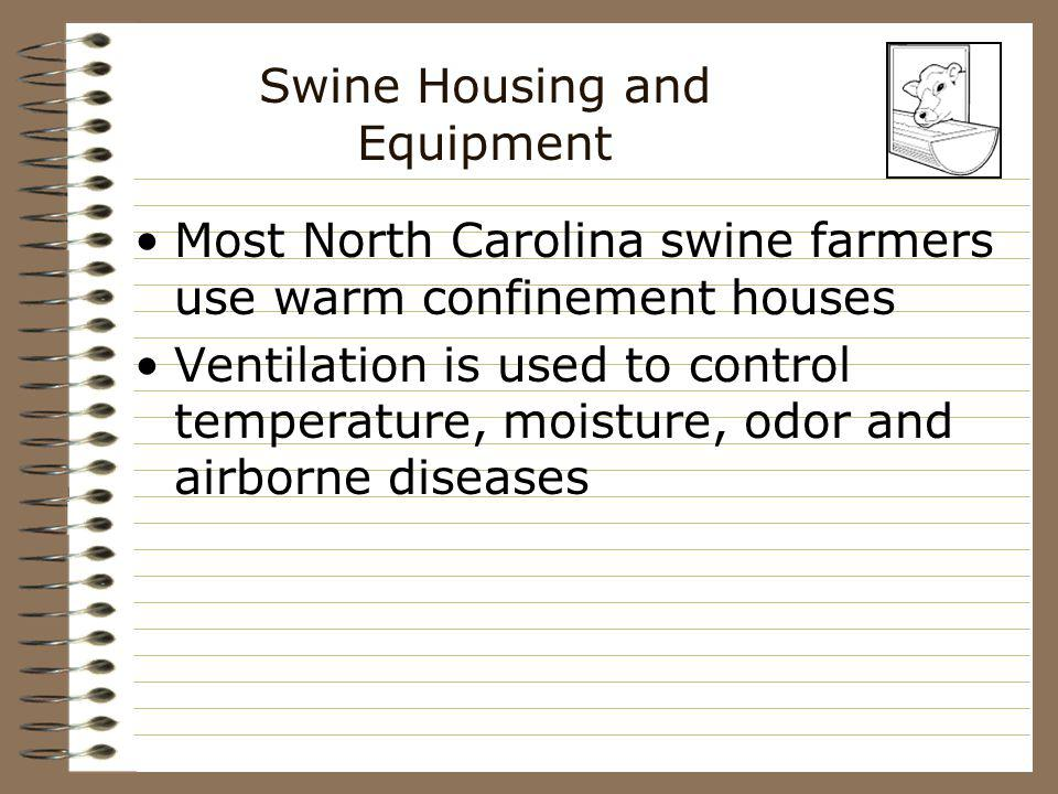 Swine Housing and Equipment