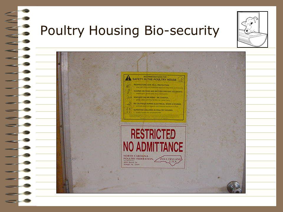Poultry Housing Bio-security
