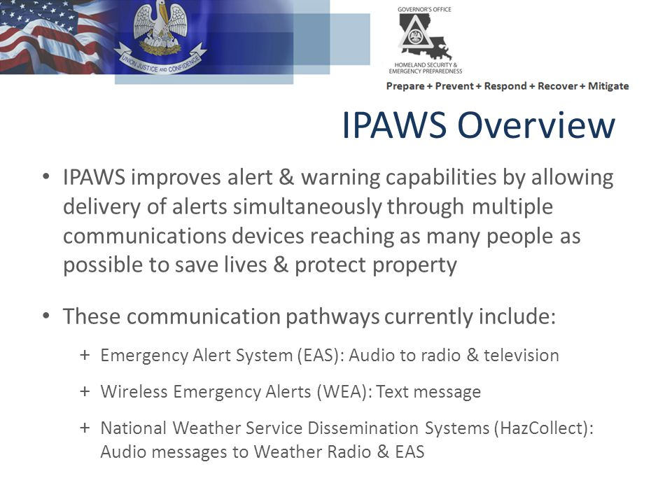 IPAWS Overview