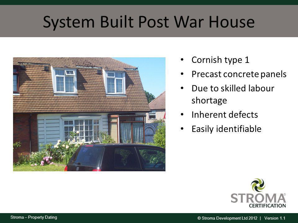 System Built Post War House