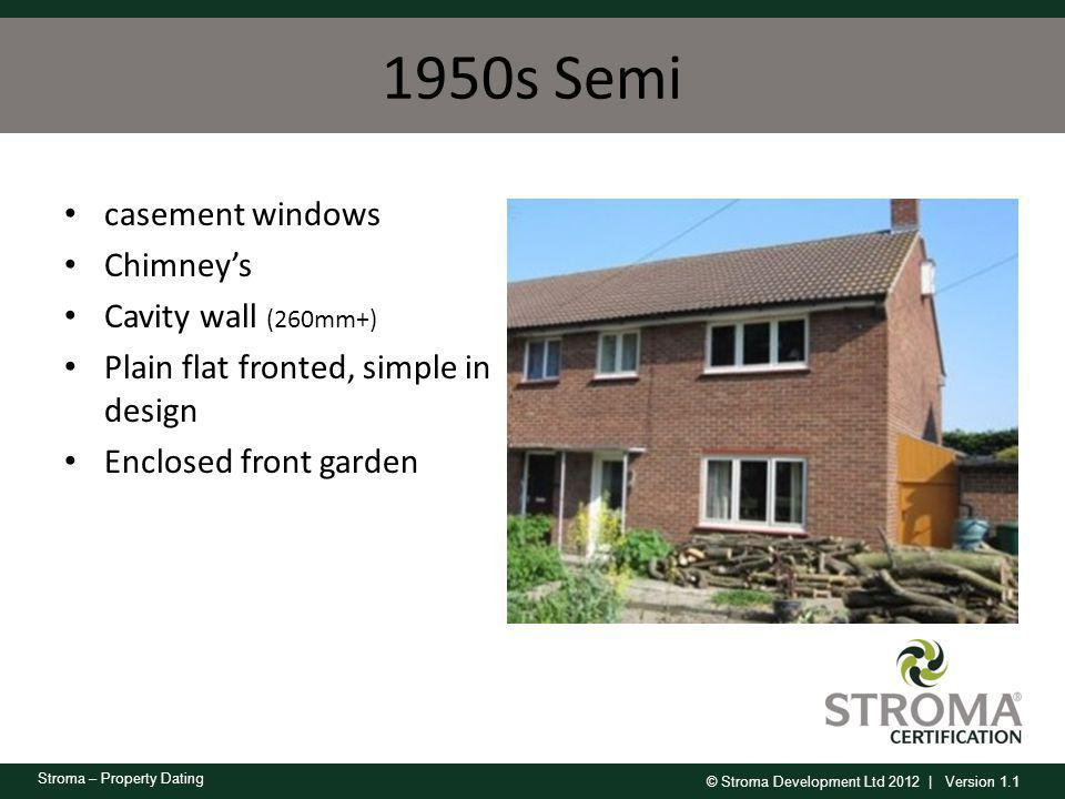 1950s Semi casement windows Chimney's Cavity wall (260mm+)