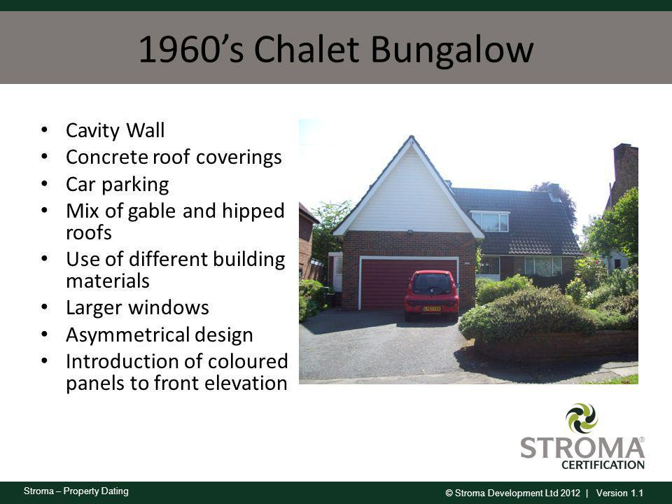 1960's Chalet Bungalow Cavity Wall Concrete roof coverings Car parking