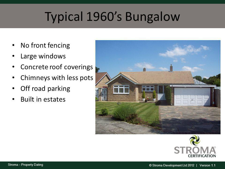 Typical 1960's Bungalow No front fencing Large windows