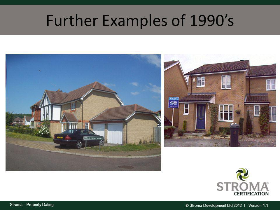 Further Examples of 1990's Estate type housing with small plots.