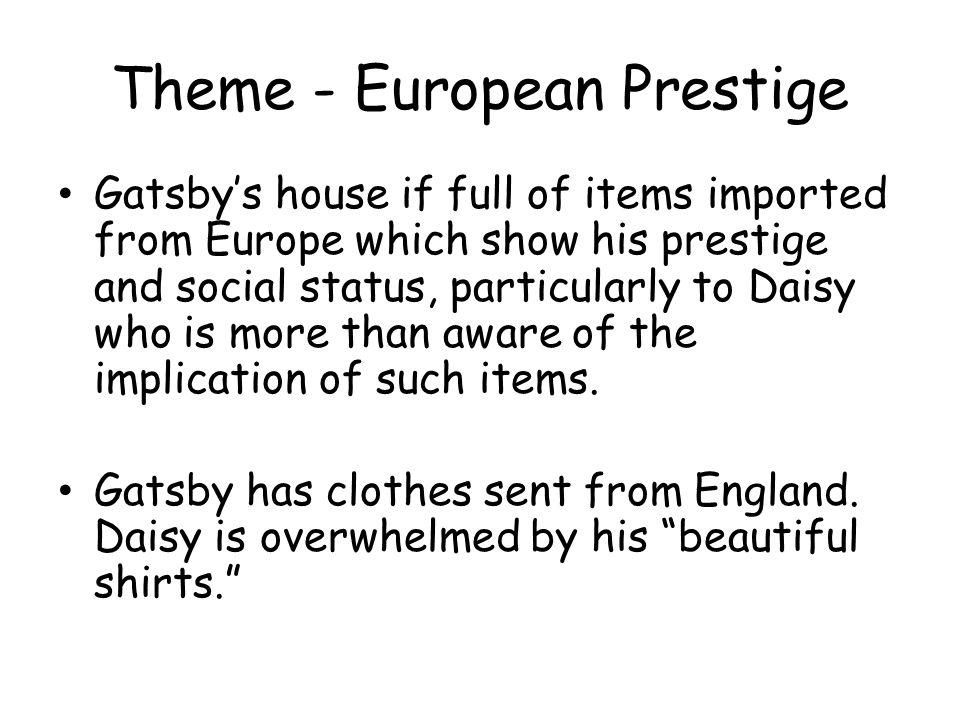 Theme - European Prestige