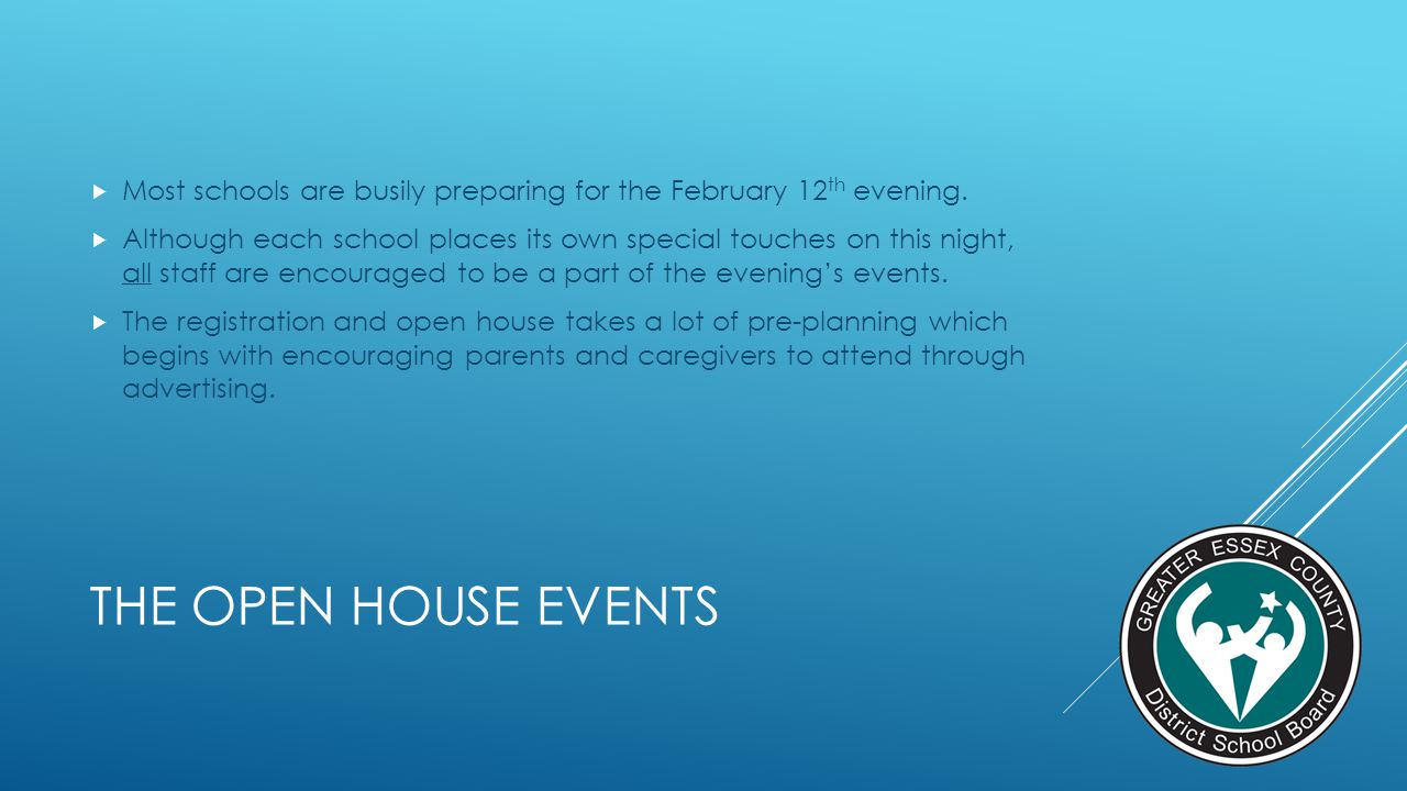 Most schools are busily preparing for the February 12th evening.