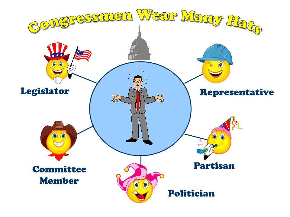 Congressmen Wear Many Hats