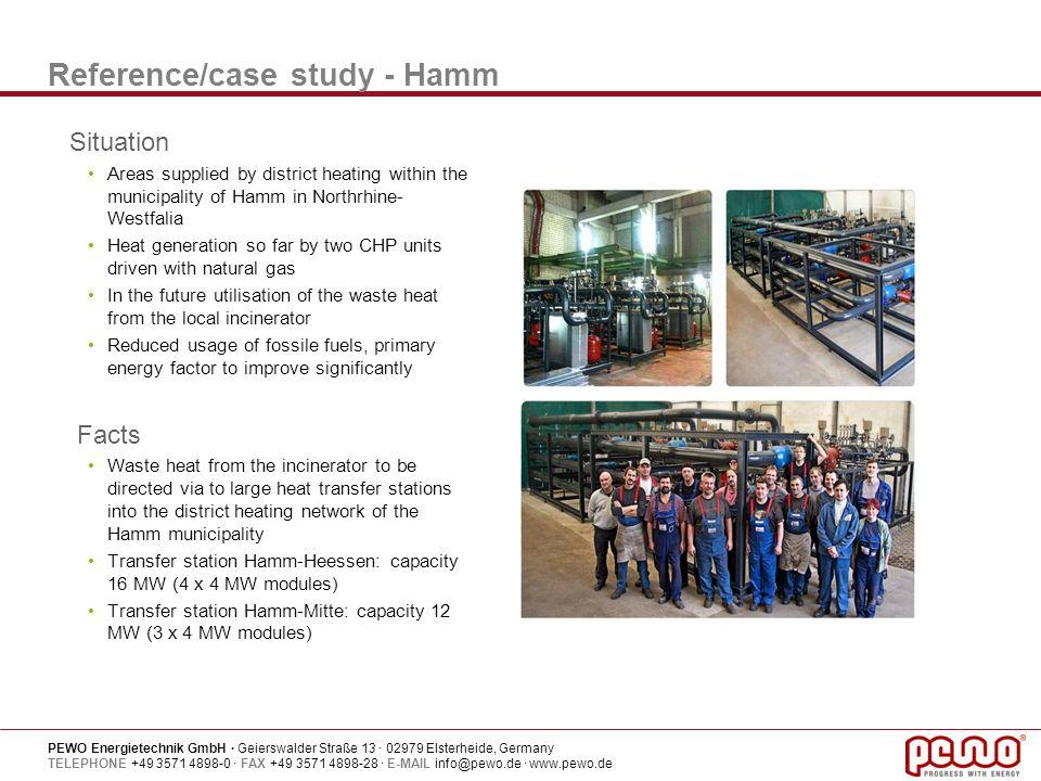 Reference/case study - Hamm