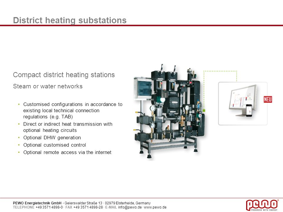 District heating substations