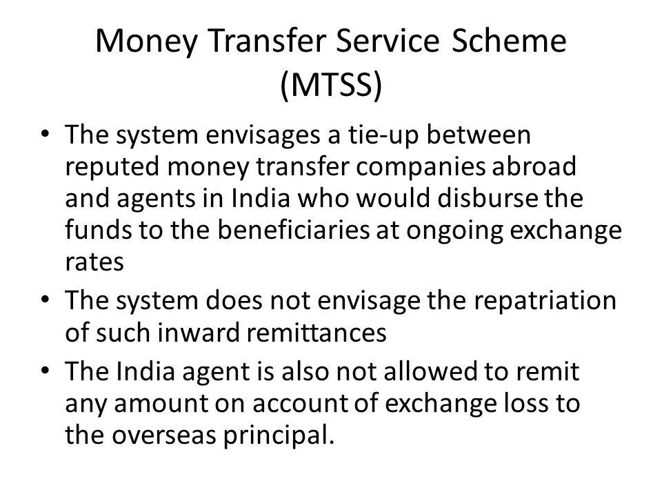 Money Transfer Service Scheme (MTSS)